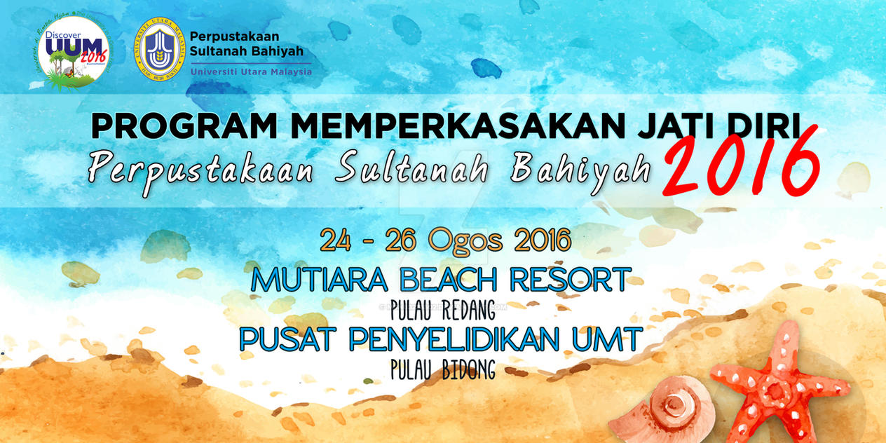 Banner Program Pulau Redang by msn83235502