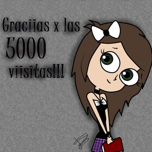 5000!! by CallMeDani
