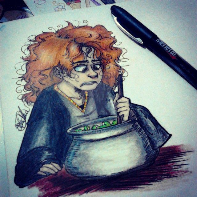 Hermione Granger by Sikiu