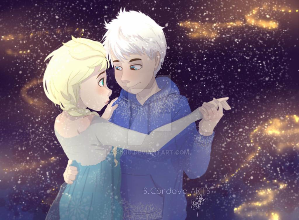 Jack Dance With Elsa by Sikiu