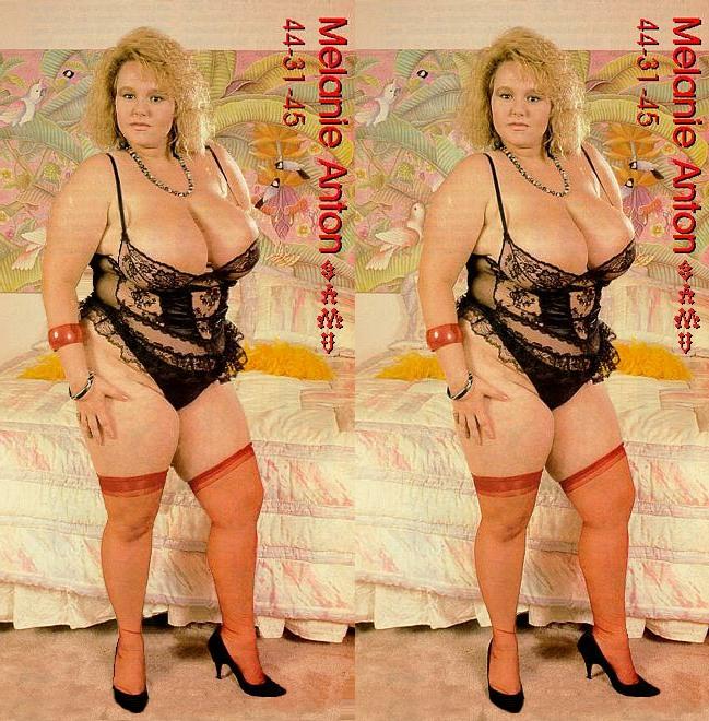 3d BBW Melanie Anton Lingeree by 3dpinup