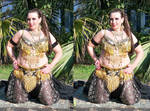 3d BBW Dawn Black Belly Dancer 017