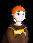 Brendan - The Secret of Kells by FrostyChica