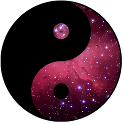 Yin and Yang...space edition