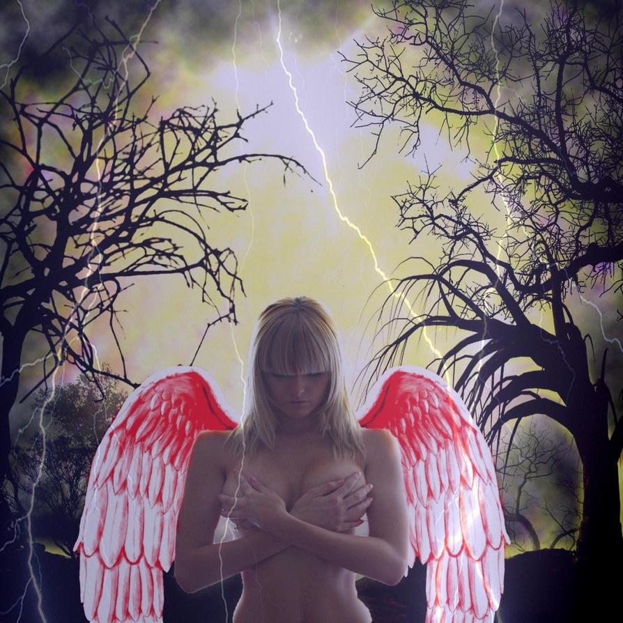 fallen angel by tanithharbinger