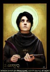 St. Gerard of Waye by saramondo
