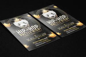 Hip Hop Battle Flyer PSD Template by KlarensM