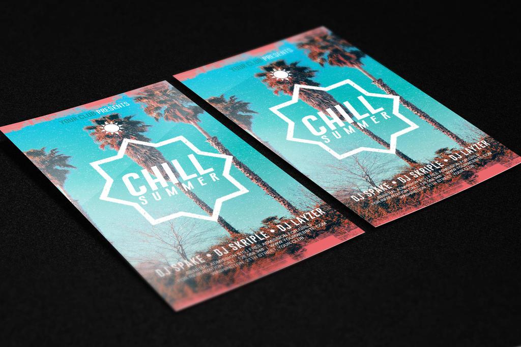 Chill Summer Flyer PSD Template by KlarensM