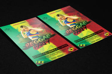 Reggae Flyer PSD Template