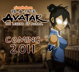 Avatar Korra by QaziArt