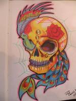 sugar skull by oldboot1