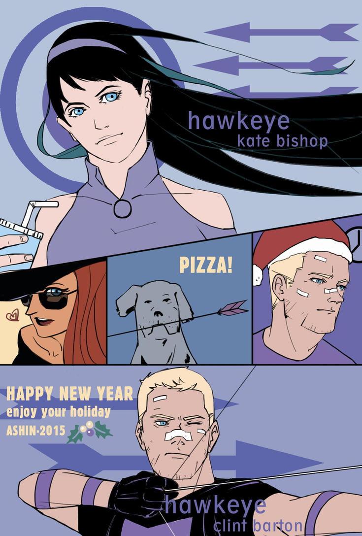 Hawkeye by milkisall