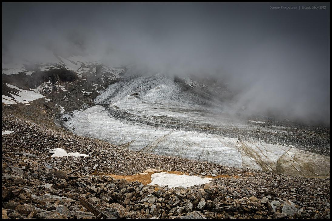 Garpung Khola glacier by Dominion-Photography