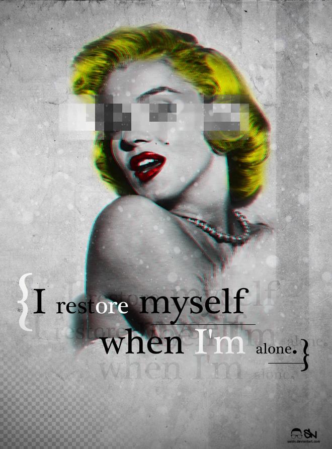 Marilyn Monroe by saidn