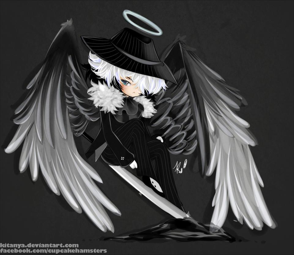 chibi angel wings - photo #7