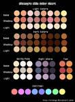 Kitanya's Skin Color Chart