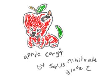 APPLE CORGI by S0LUS