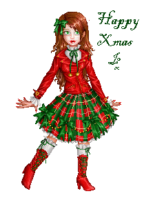 Xmas 08.doll by Bitterkawaii