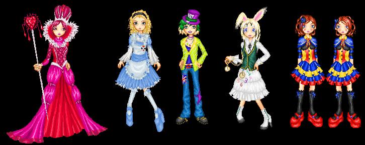 Alice.dolls.set by Bitterkawaii