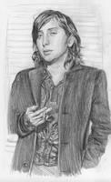 Carl.pencil.birthday by Bitterkawaii