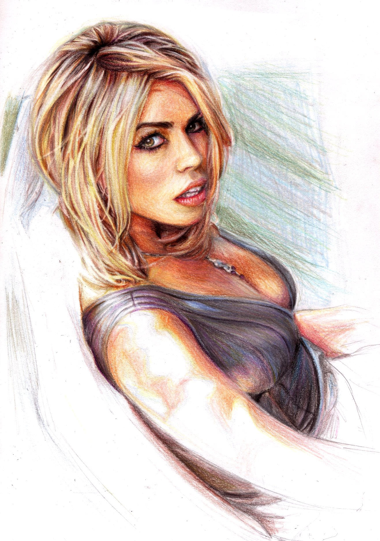 Billie Piper 2014 Hair