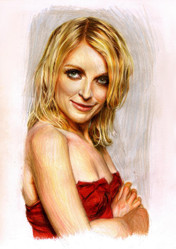 Lauren Laverne.colour by Bitterkawaii on deviantART