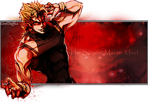 Dio Brando Signature by CoolTaff12