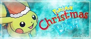 Christmas Pikachu Signature