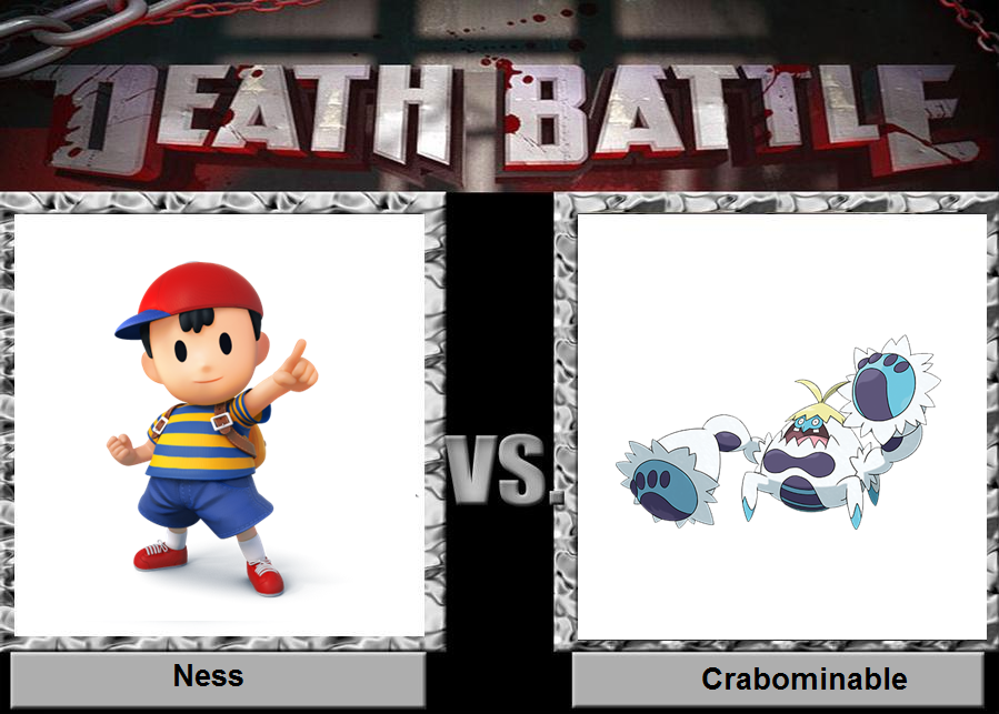 Ness vs Crabominable by we-are-most-awesome