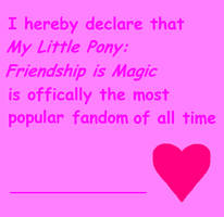 MLP Agreement Form by MLP-Is-Best-Fandom
