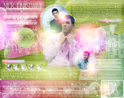 Nick Jonas Daily // Web.PSD by totallyclassic