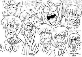 it's that one creepy anime girl