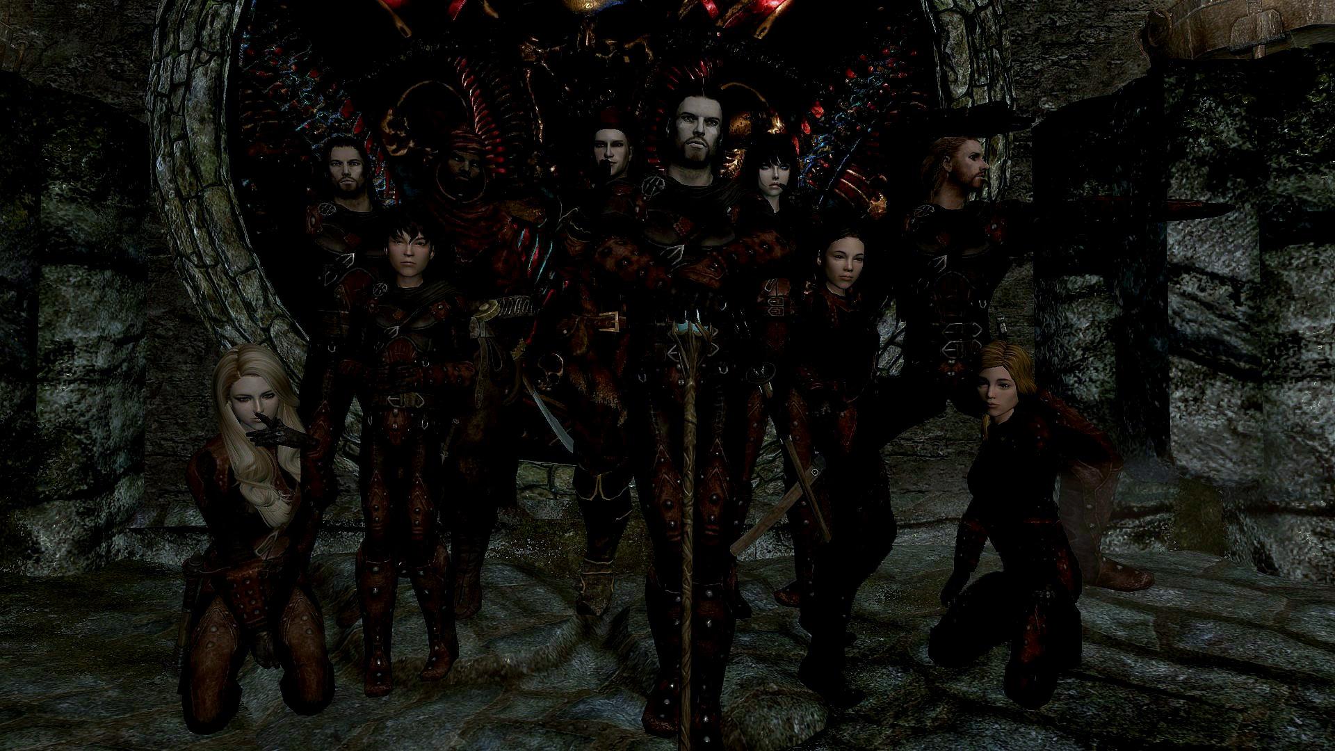 The Dark Brotherhood Family By Morgan1501