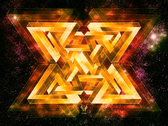 escher triangles 2 by odinemb