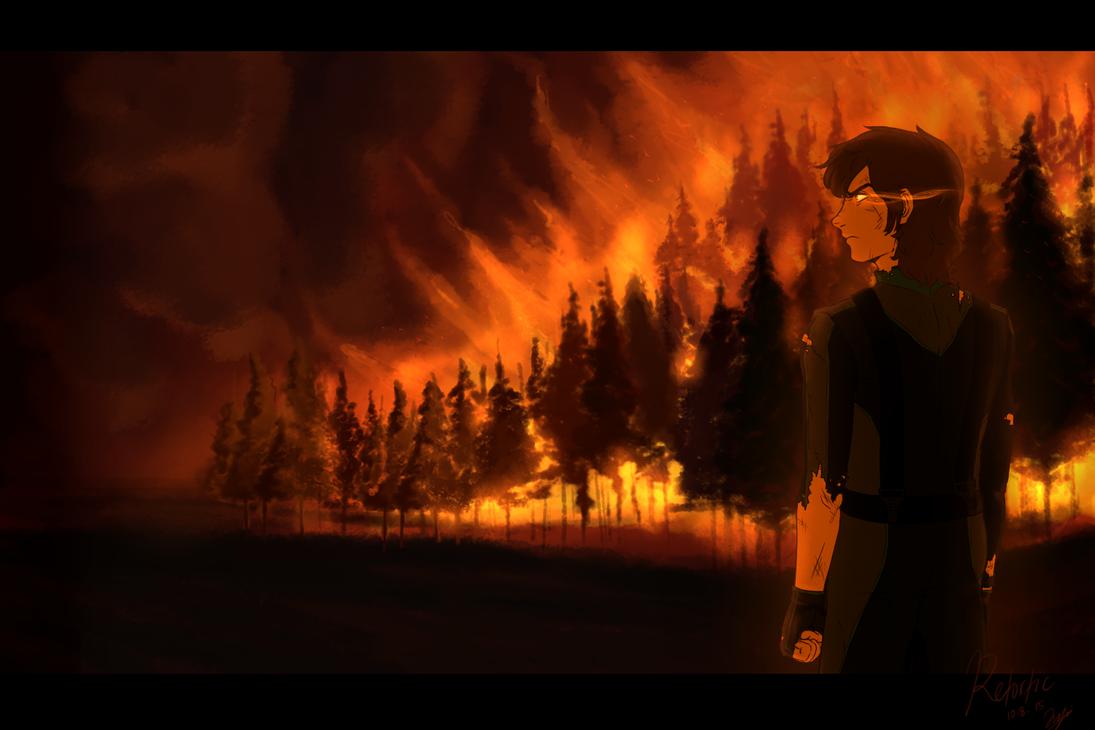 Forest Fire by Retortic on DeviantArt
