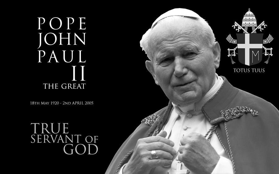Quotes From Pope John Paul Ii: Pope John Paul II The Great By Al-LZQ On DeviantArt