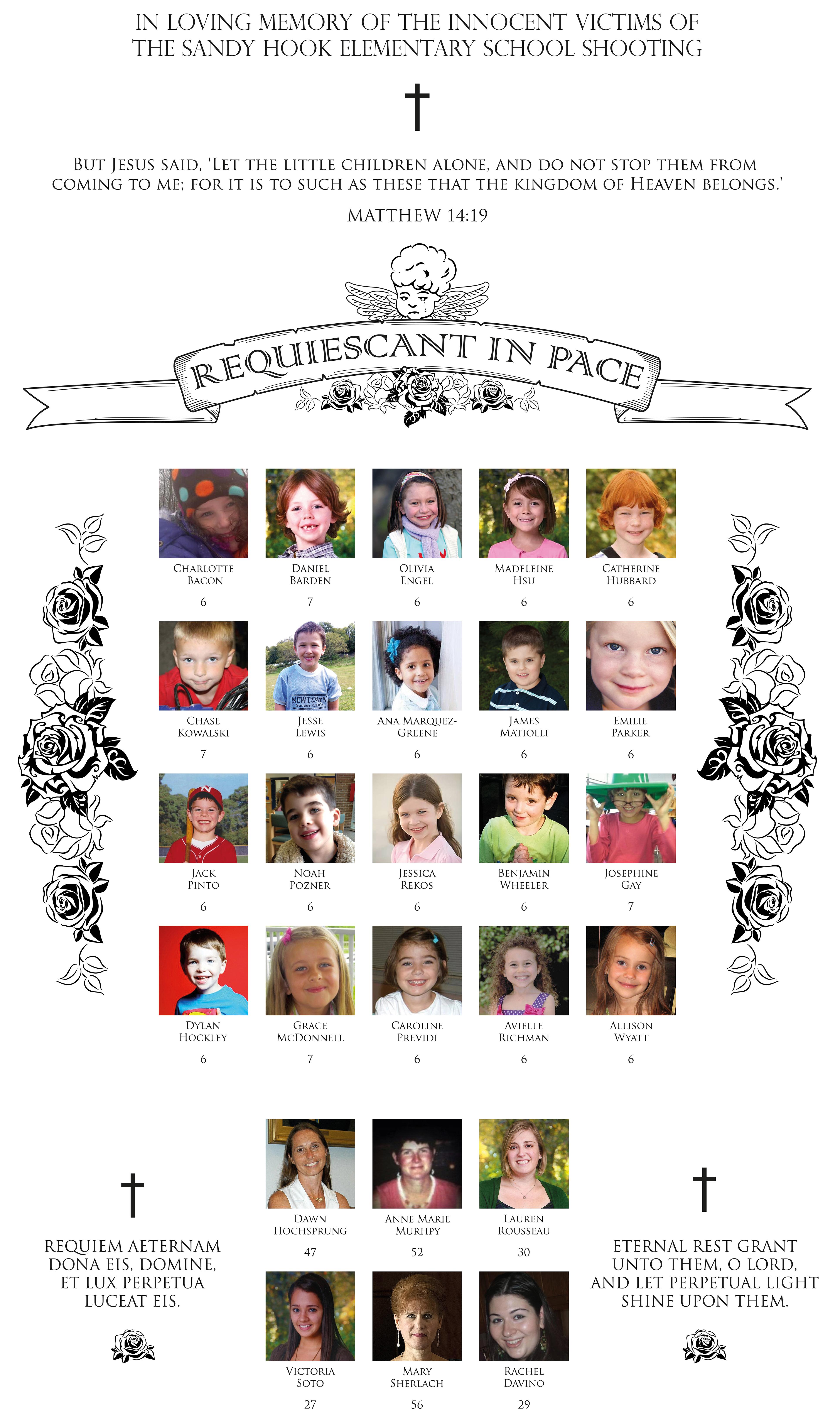 In Loving Memory - Sandy Hook Elementary School by Al-LZQ