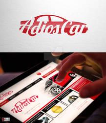 Adios Car Logo