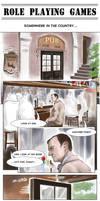 Role Playing Games Part.1ENG/Mystrade/sherlock BBC