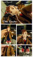 10th Doctor Devid Tennant by IrvinIS