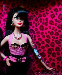 Rockabilly Barbie