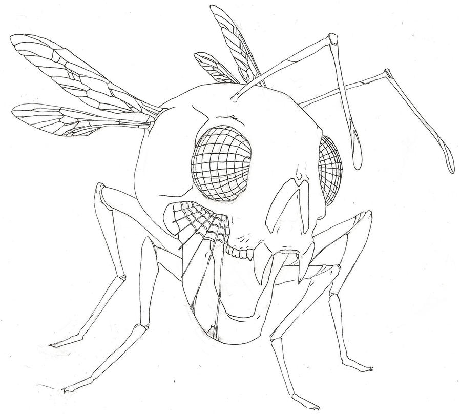 Buggin' OUT__WIP__ - dragonfly tattoo