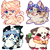 recent icons ! by ariamisu