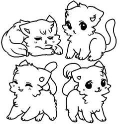 CAT BASES 3 by ariamisu