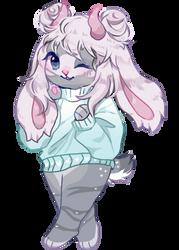 lavender bun by ariamisu