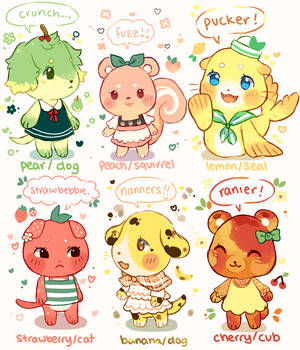 (ended) fruity villager auction