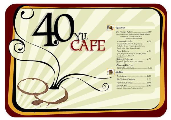 sevis 40 yil cafe by karekilit