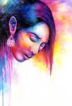 Watercolour Portrait 01