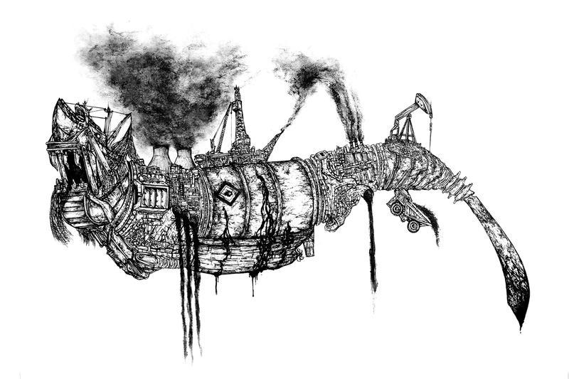 Industrial Shark - Rough Concept by JonJTran