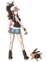 Pokemon Girl Black and White by Scarthemonkey